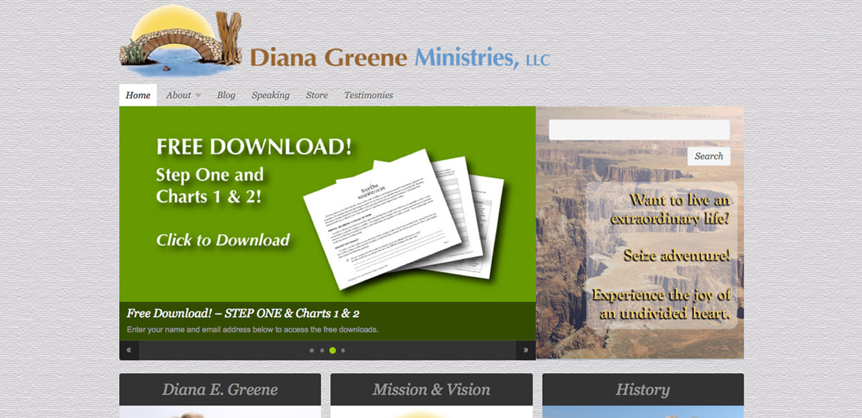 Diana Greene Ministries.com